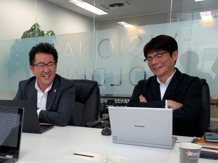 左:小西さん 右:福井さん