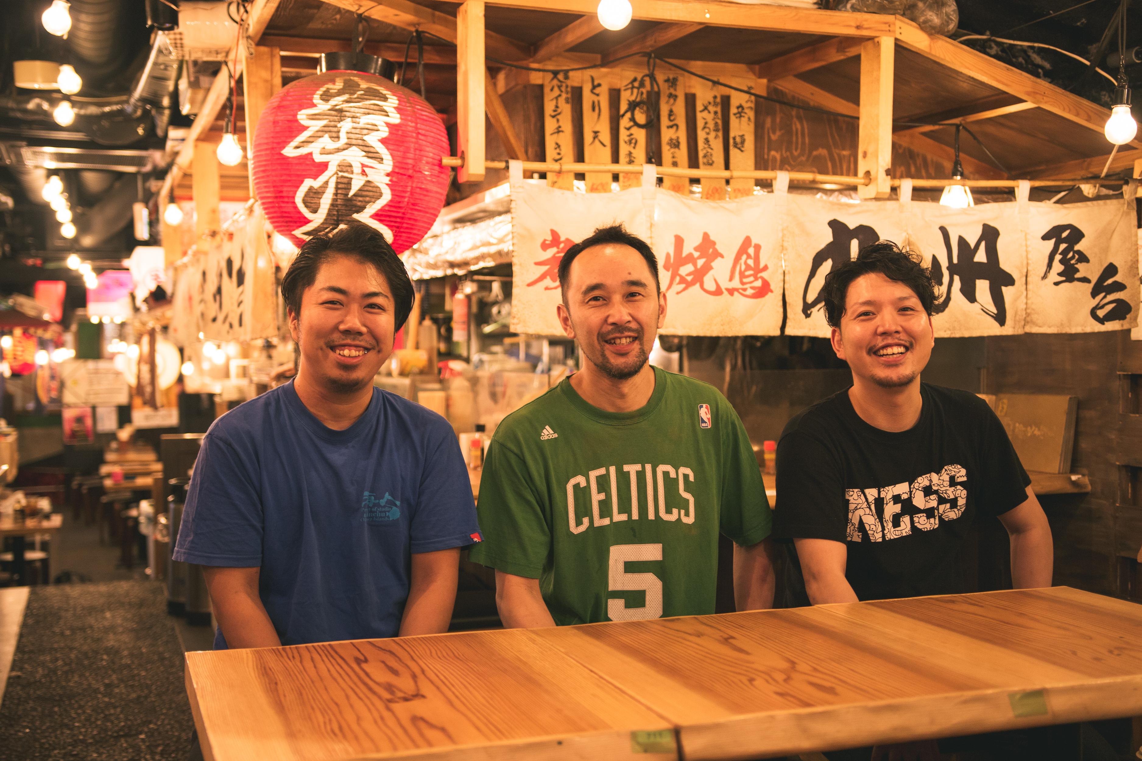 曽根さん、市野さん、佐藤さん